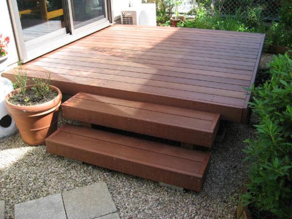 組立(DIYキット)ハードウッドデッキ中川木材産業