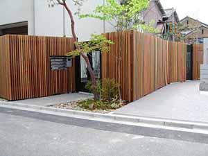 中川木材産業の施工