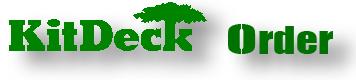 ウッドデッキ/kitdeckロゴ