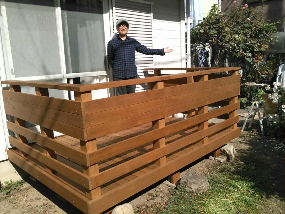ウッドデッキ e-wood
