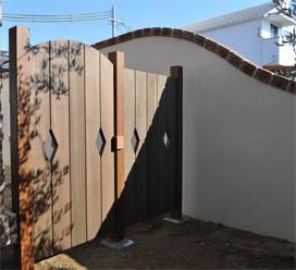 木製門扉 組み立てキット