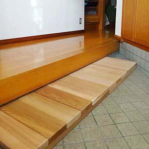 玄関ステップ 事例