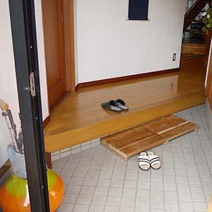 玄関ステップ 事例3