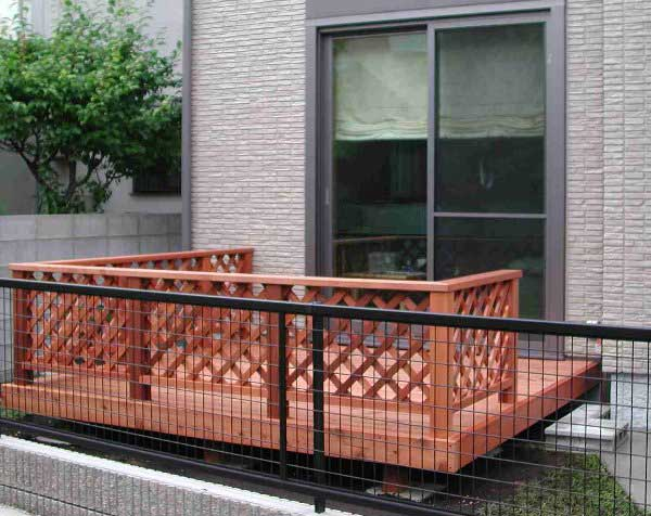 ウッドデッキ体験談-中川木材産業