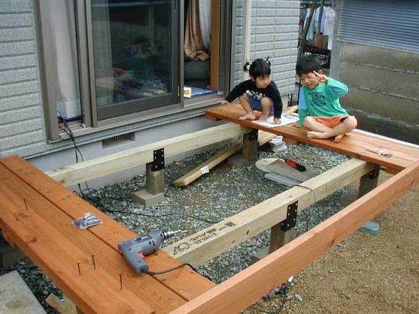 購入者の組み立て事例-中川木材産業